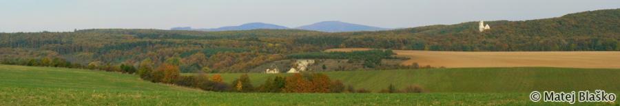 Panorama Male Karpaty jesen Matej Blasko