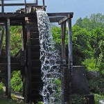 historic mill near Puchberg / historický mlyn nad Puchbergom